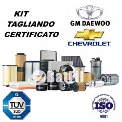 Kit tagliando Daewoo Matiz 0.8 37KW/51HP Mot.F8CV-1.0...
