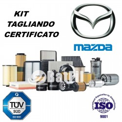 Kit Tagliando Mazda6 2.0 Di MZR-CD  120/136HP