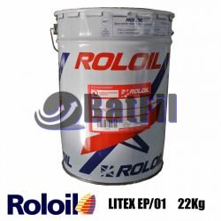Grasso al litio Q8 Roloil LITEX-EP/01 22 kg