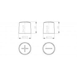 Batteria Autopart 12 Volt 50Ah  360A (EN) polarità DX dim 207 x 175 x 190(h)
