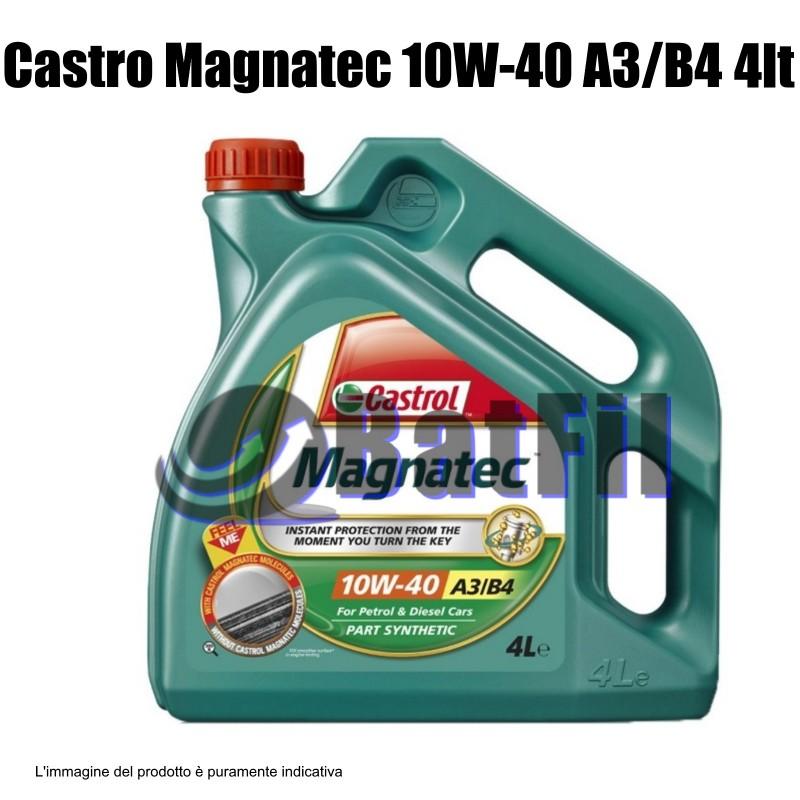 Olio Castrol Magnatec 10W-40 A3/B4  10W-40 A3/B4   4  LT