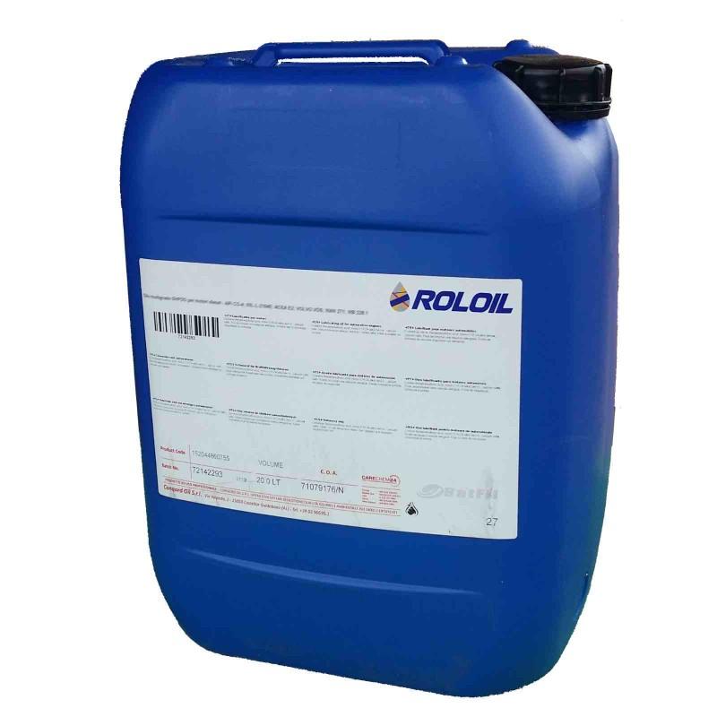 Olio a base sintetica 5w40 Q8 Roloil Synt-XPR 20 lt