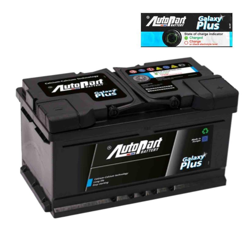Batteria Autopart 12V 100Ah 850A (EN) polo + SX dim 303 x 175 x 227(h)