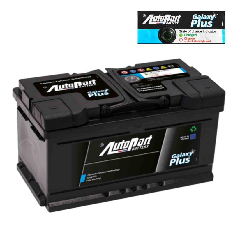 Batteria Autopart 12V 90Ah 810A (EN) polo + DX dim 353 x 175 x 175(h)
