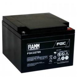 Fiamm  FGC22705 12V 27Ah batteria AGM VRLA al piombo sigillata ricaricabile