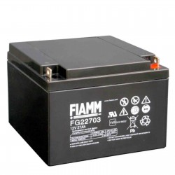 Fiamm  FG22703 12V 27Ah batteria AGM VRLA al piombo sigillata ricaricabile