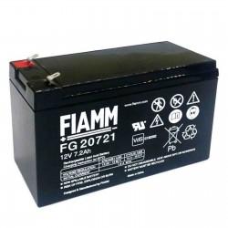 Fiamm  FG20721 12V 7.2Ah batteria AGM VRLA al piombo sigillata ricaricabile