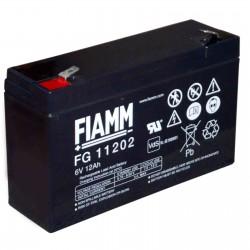 Fiamm  FG11202 6V 12Ah batteria AGM VRLA al piombo sigillata ricaricabile