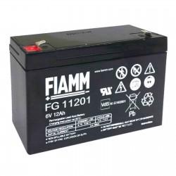 Fiamm  FG11201 6V 12Ah batteria AGM VRLA al piombo sigillata ricaricabile