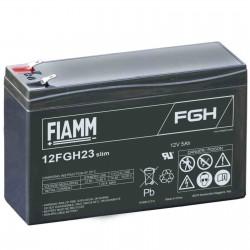 Fiamm  12FGH23slim 12V 5Ah batteria AGM VRLA al piombo sigillata ricaricabile