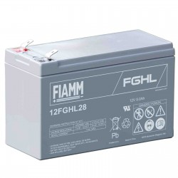 Fiamm  12FGHL28 12V 7.2Ah batteria AGM VRLA al piombo sigillata ricaricabile