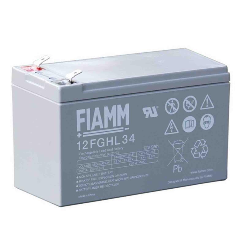 Fiamm  12FGHL34 12V 8.4Ah batteria AGM VRLA al piombo sigillata ricaricabile