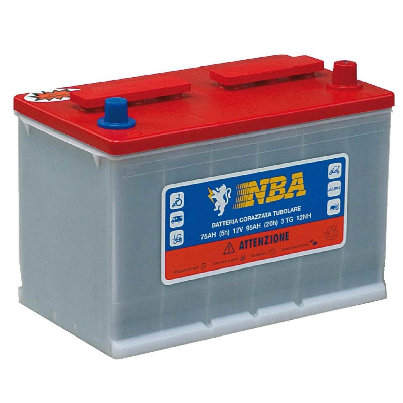 Batteria tubolare per fotovoltaico NBA 3TG12-S 12V 20/h 95Ah !IVA AGEVOLATA!