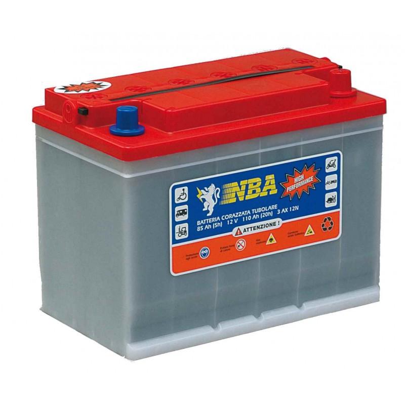 Batteria tubolare per fotovoltaico NBA 3AX12N-S 12V 20/h 110Ah !IVA AGEVOLATA!