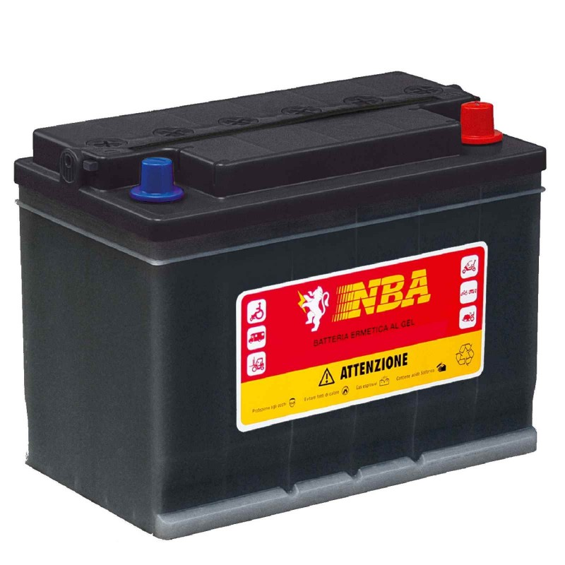 Batteria al GEL per fotovoltaico NBA GEL 3GL12N-S 12V 20/h 86Ah !IVA AGEVOLATA!