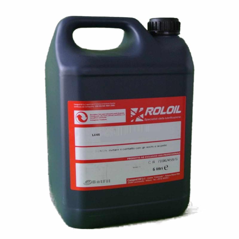 Olio per comandi oleodinamici Roloil  LI 46 5 lt