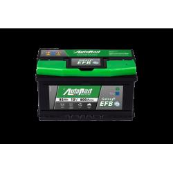 Batteria StartStop 12V 82Ah 800A polo + DX dim 315 x 175...